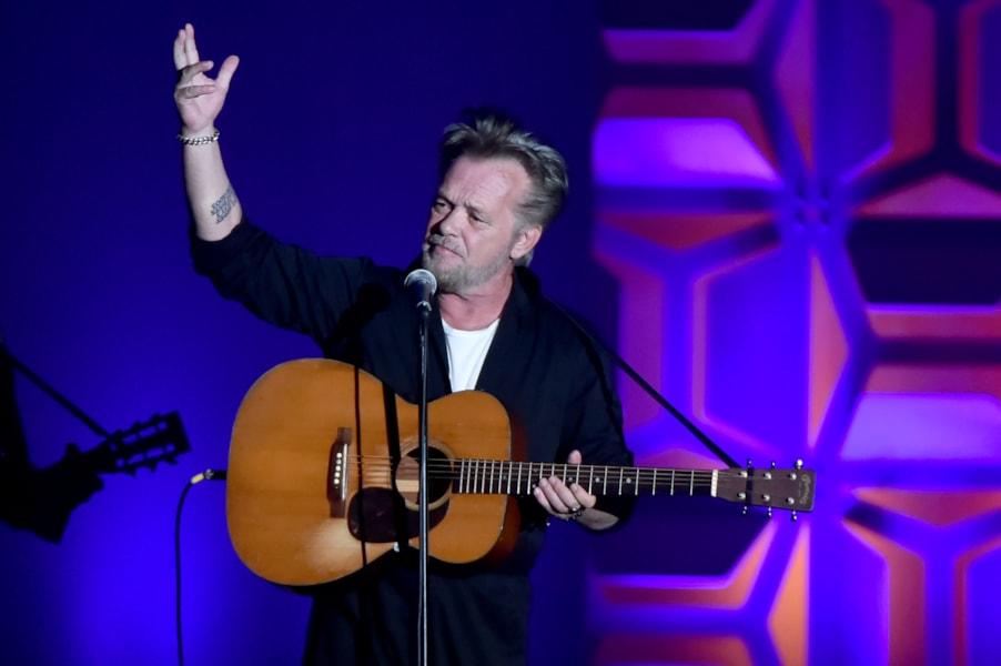 NEW YORK, NY - JUNE 14:  Songwriters Hall of Fame Inductee John Mellencamp performs onstage during the Songwriters Hall of Fame 49th Annual Induction and Awards Dinner at New York Marriott Marquis Hotel on June 14, 2018 in New York City.  (Photo by Theo Wargo/Getty Images for Songwriters Hall Of Fame ) *** Local Caption *** John Mellencamp
