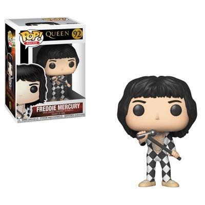 Freddie Mercury - Harlequin Jumpsuit - Funko Pop! Rocks Figure