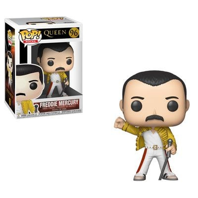 Freddie Mercury - 1986 Wembley Stadium - Funko Pop! Rocks Figure
